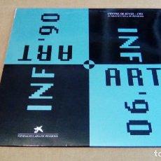 Discos de vinilo: VARIOS - INFART '90 (LP 1990, CIEJ / FUNCACIO CAIXA PENSIONS, DISCMEDI ADM 503). Lote 103042019