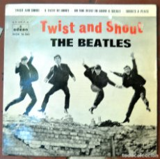 Discos de vinilo: BEATLES. TWIST AND SHOUT; A TASTE OF HONEY; THERE'S A PLACE; ... ODEON DSOE 16.560. ESPAÑA 1963. Lote 103049507