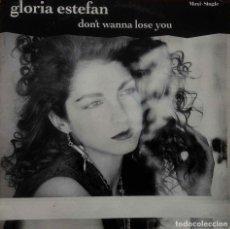 Discos de vinilo: GORIA STEFAN. DON´T WANNA LOSE YOU. MAXI SINGLE ESPAÑA 3 TEMAS.. Lote 103055143