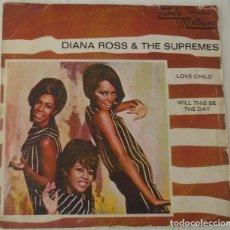 Discos de vinilo: DIANA ROSS & THE SUPREMES - LOVE CHILD TAMLA MOTOWN - 1968. Lote 103059819