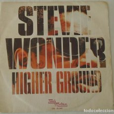 Discos de vinilo: STEVIE WONDER - HIGHER GROUND TAMLA MOTOWN - 1974. Lote 103060363