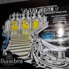 Discos de vinilo: LP LA VIEJECITA DE M FERNÁNDEZ CABALLERO 1962. Lote 103066592