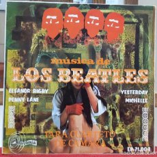 Discos de vinilo: BEATLES-MUSICA DE LOS BEATLES PARA CUARTETO DE CAMARA-ALFONSO SANTISTEBAN-PAUL MCCARTNEY-JOHN LENNON. Lote 103068731