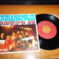 Discos de vinilo: GRUPO 15 INDIANAPOLIS / MI ULTIMO AMOR SINGLE VINILO DEL AÑO 1970 MOVIE PLAY 2 TEMAS. Lote 103070551