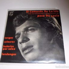 Discos de vinilo: EL CAMARON DE LA ISLA - DETRAS DEL TUYO SE VA+3 - SINGLE PHILIPS 1970 (PACO DE LUCÍA). Lote 103075543