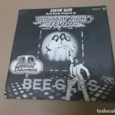 Dischi in vinile: SATURDAY NIGHT FEVER (SN) BEE GEES – STAYIN' ALIVE AÑO 1977. Lote 103075847