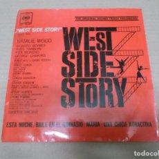 Discos de vinilo: WEST SIDE STORY (EP) JOHNNY GREEN Y SU ORQUESTA AÑO 1962. Lote 103076499