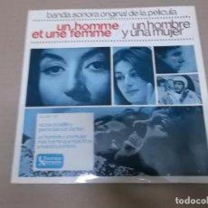 Discos de vinilo: UN HOMBRE Y UNA MUJER (EP) NICOLE CROISILLE Y PIERRE BAROUTH AÑO 1966. Lote 103076603
