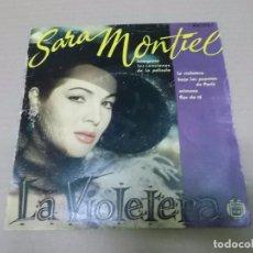 Discos de vinilo: LA VIOLETERA (EP) SARA MONTIEL HH 1751 AÑO 1956. Lote 103076719