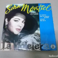 Discos de vinilo: LA VIOLETERA (EP) SARA MONTIEL 17-51 AÑO 1958. Lote 103076791