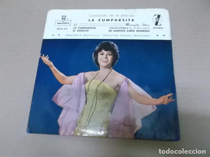 LA CUMPARSITA (EP) MARUJITA DIAZ AÑO 1961 (Música - Discos de Vinilo - EPs - Bandas Sonoras y Actores)