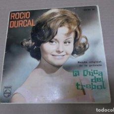 Discos de vinilo: LA CHICA DEL TREBOL (EP) ROCIO DURCAL - TREBOLE AÑO 1963. Lote 103077983
