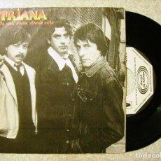 Discos de vinilo: TRIANA.DE UNA NANA SIENDO NIÑO + 1....PROMO..PEDIDO MINIMO 5€. Lote 103081539