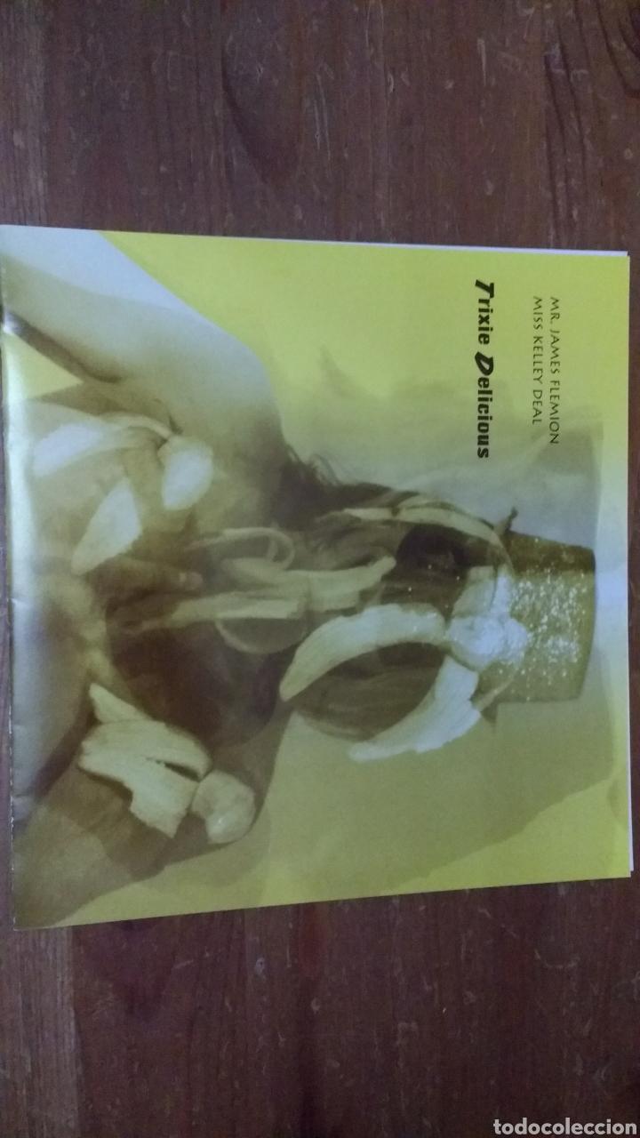 Discos de vinilo: Kelley Deal (The Breeders) 6000 -Trixie Delicius- - Foto 2 - 103085354