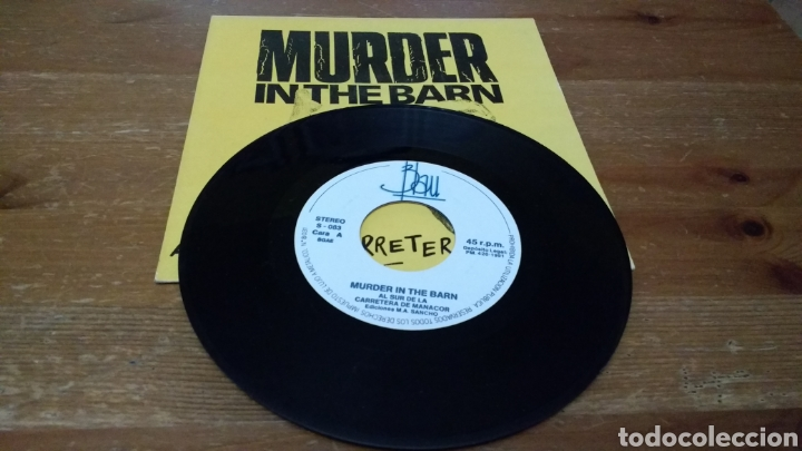 Discos de vinilo: Murder in The Barn-Al sur de la carretera de Manacor- - Foto 3 - 103086948
