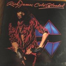 Discos de vinilo: LP RICK JAMES. COLD BLOODED. DOBLE CARPETA. Lote 103090902
