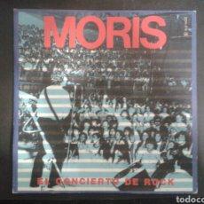 Discos de vinilo: MORIS CONCIERTO DE ROCK / ES UN CHAVAL. SINGLE PROMOCIONAL. CHAPA. 1985. Lote 103097031
