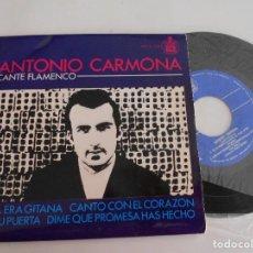 Discos de vinilo: ANTONIO CARMONA-EP ELLA ERA GITANA +3. Lote 103106043