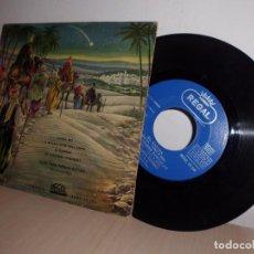 Discos de vinilo: CAPILLA CLASICA POLIFONICA DEL F,A,D,-SANTA NIT-VILLANCICOS-EP DE 4 CANCIONES - REGAL BCN ODEON 1958. Lote 103106451
