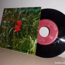 Discos de vinilo: CANCIONES CATALANAS -MUNTANYES REGALADES- ZAFIRO-POLIFONICA DE GERONA DIR JOSE VIADER -1962. Lote 103106595