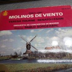 Discos de vinilo: LP MOLINOS DE VIENTO DE PABLO LUNA 1963. Lote 103108086