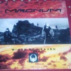 Discos de vinilo: MAGNUM - WINGS OF HEAVEN LP - POLYDOR 1988 . Lote 103108759
