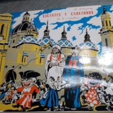 Discos de vinilo: LP GIGANTES Y CABEZUDOS 1962. Lote 103109651