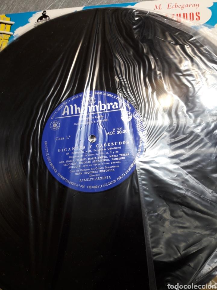 Discos de vinilo: LP Gigantes y cabezudos 1962 - Foto 3 - 103109651