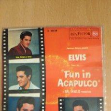 Discos de vinilo: ELVIS - FUN IN ACAPULCO. Lote 103110915