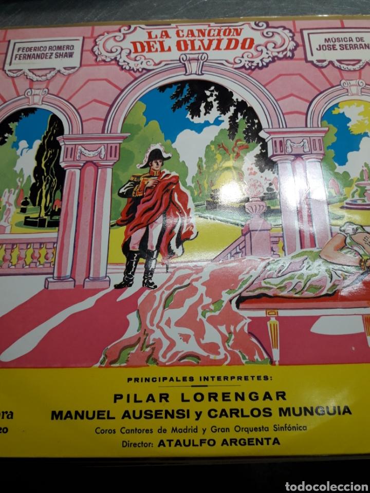 LP LA CANCIÓN DEL OLVIDO 1962 (Música - Discos - LP Vinilo - Clásica, Ópera, Zarzuela y Marchas)