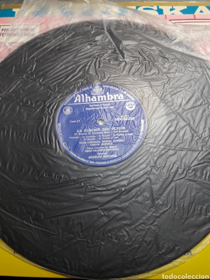 Discos de vinilo: LP La Canción del Olvido 1962 - Foto 3 - 103112459