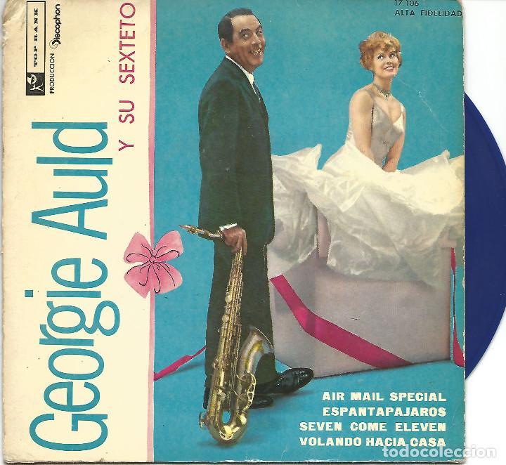 GEORGIE AULD - AIR MAIL SPECIAL + 3 (EP DE 4 CANCIONES) VINILO AZUL - VG+/EX (Música - Discos de Vinilo - EPs - Jazz, Jazz-Rock, Blues y R&B)