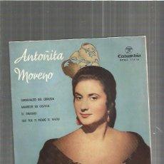 Discos de vinilo: ANTOÑITA MORENO CARNAVALITO. Lote 103116247