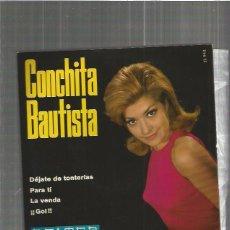 Discos de vinilo: CONCHITA BAUTISTA DEJATE. Lote 103117087