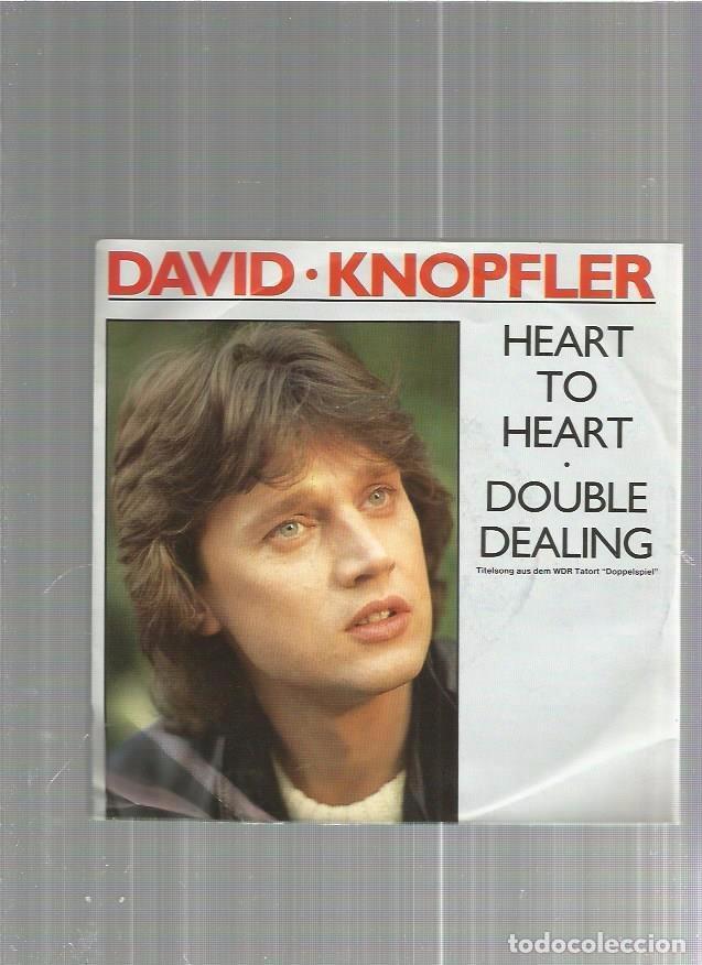 DAVID KNOPFLER HEART (Música - Discos de Vinilo - Singles - Pop - Rock Extranjero de los 80)