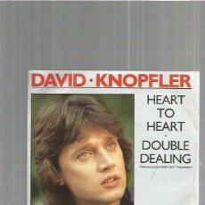 Discos de vinilo: DAVID KNOPFLER HEART. Lote 103121119