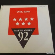 Discos de vinilo: VYNIL BAND SINGLE I CAN´T TELL YOU WHY 92 CLUB MIX Y ACAPPELLA. Lote 103135451