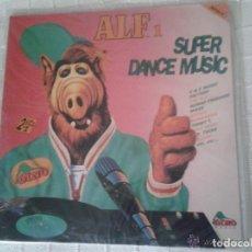 Discos de vinilo: DISCO DE VINILO ALF1 SUPER DANCE MUSIC. Lote 103137659