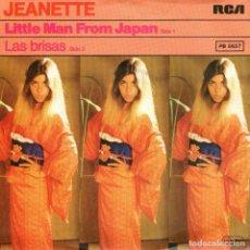 Discos de vinilo: JEANETTE - SINGLE 7'' - EDITADO EN ALEMANIA - LAS BRISAS + LITTLE MAN FROM JAPAN - RCA 1979. Lote 103143631