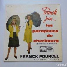 Discos de vinilo: FRANK POURCEL ''LOS PARAGIUAS DE CHERBURGO'' AÑO 1964 VINILO DE 7'' ES UN EP. Lote 103149399