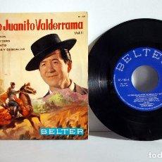 Discos de vinilo: EXITOS DE JUANITO VALDERRAMA - EP BELTER 1964 EX/EX SU PRIMERA COMUNIÓN. Lote 103181467