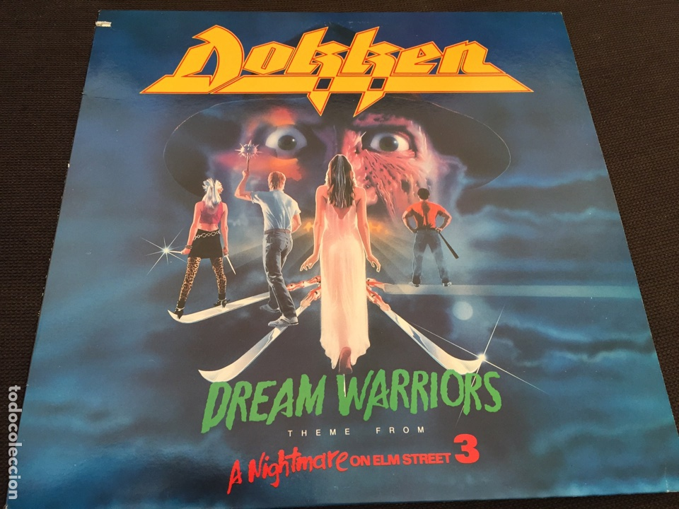 Lp Dokken Bso Pesadilla En Elm Street 3 Dream Sold Through Direct Sale 103190787