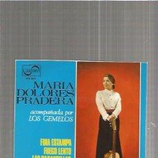 Discos de vinilo: MARIA DOLORES PRADERA FINA. Lote 103191359