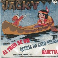 Discos de vinilo: LOS CHIQUITINES / JACKY + 3 (EP 1979) NUEVO SIN PONER. Lote 103191855