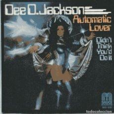 Discos de vinilo: DEE D. JACKSON / AUTOMATIC LOVER + 1 (SINGLE 1978) NUEVO SIN USAR. Lote 103192543
