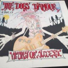 Discos de vinilo: THE DOGS DAMOUR. VICTIMS OF SUCCESS. VINILO EP. PERFECTO ESTADO. Lote 103193316