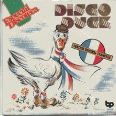 Discos de vinilo: DISCO DUCK (PAUL VINCENT) - (DISCO DUCK SYMPHONY) SINGLE 1976 NUEVO SIN PONER. Lote 103193519