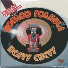 Discos de vinilo: HOTROD FORMULA / HEAVI CHEVI PARTES 1 Y 2 (SINGLE 1976) NUEVO SIN PONER. Lote 103194383