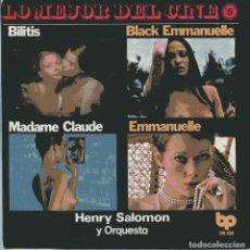Discos de vinilo: HENRY SALOMON / EMMANUELLE + 3 (EP 1978) NUEVO SIN PONER. Lote 103194491
