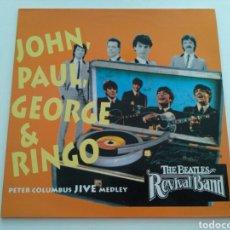 Discos de vinilo: THE BEATLES REVIVAL BAND FRANKFURT -JOHN, PAUL, GEORGE & RINGO. Lote 103200883